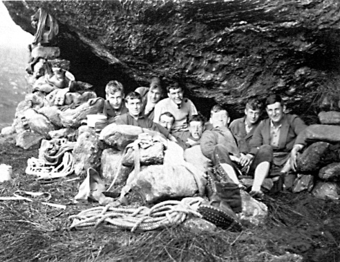 inaugural meeting of JMCS under the Narnain Boulder